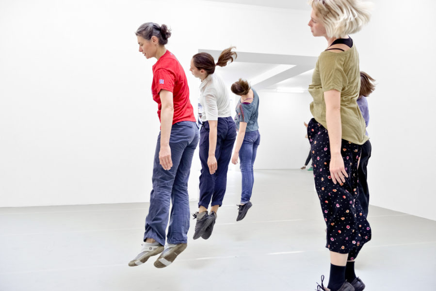 Yvonne Rainer, Dance Works, Raven Row, Performance Photography: Eva Herzog