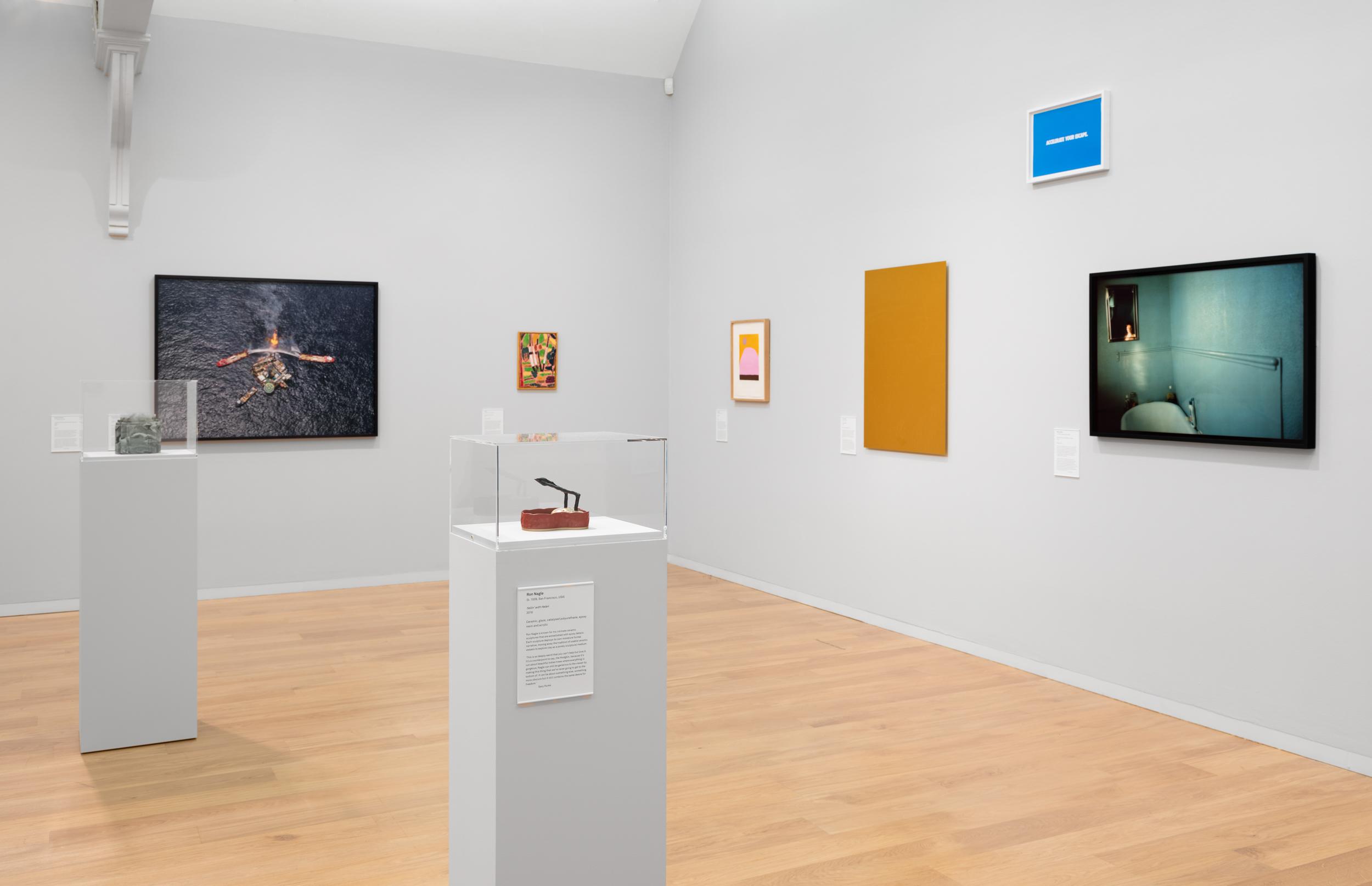 Whitechapel Gallery, Hiscox Collection: Photo: Eva Herzog
